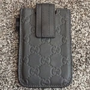 Gucci GG Guccissima Leather Slim Snap Wallet 💕💞